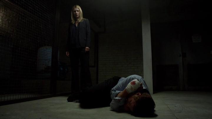 Pour l'interrogatoire, une scène parfaitement maitrisée