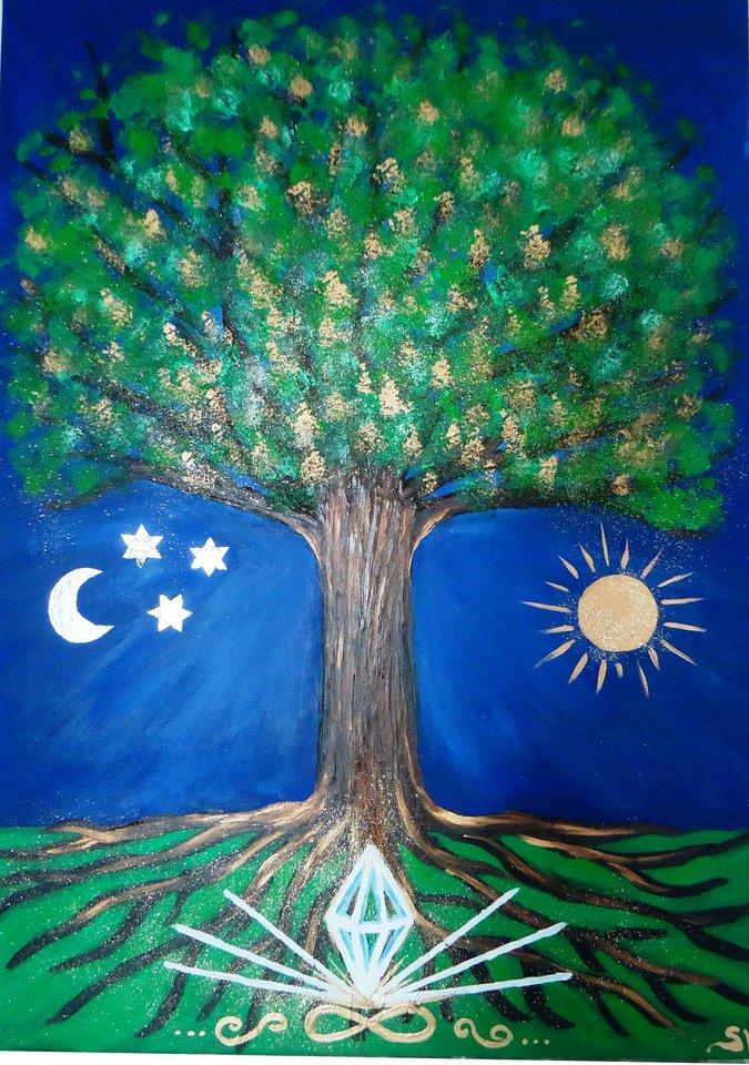 Enfant ternel tu es l arbre de la vie et de l unit choix realite - Signification arbre de vie ...