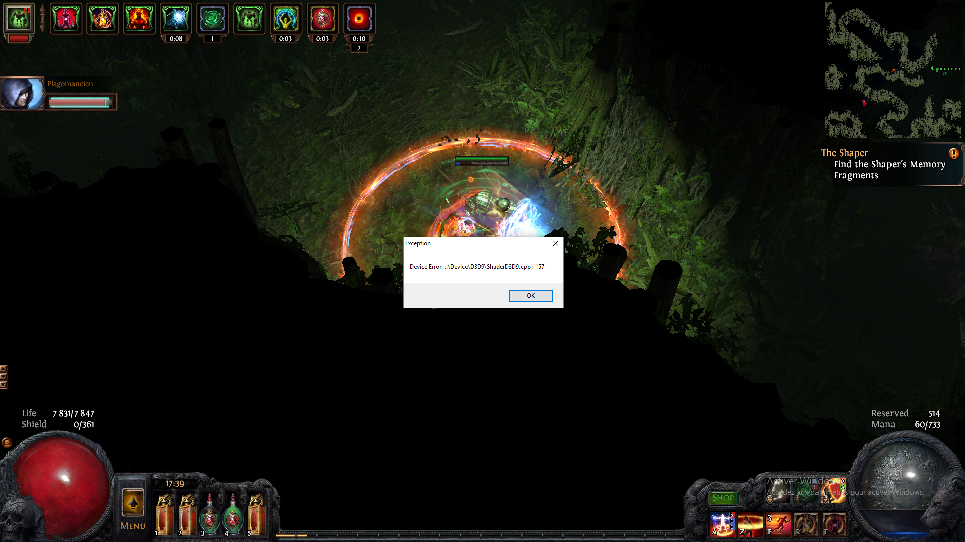 Forum - Bug Reports - Device Error ShaderD3D9 cpp:157 - Path of Exile